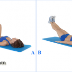 Kickout Exercise For Abs [Image]